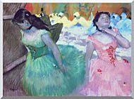 Edgar Degas The Entry Of The Masked Dancers stretched canvas art