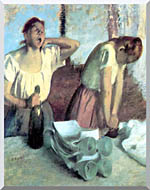 Edgar Degas The Ironers stretched canvas art