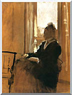 Edgar Degas Woman At A Window stretched canvas art