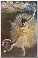 Edgar Degas Fin Darabesque stretched canvas art