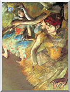 Edgar Degas Dancers stretched canvas art