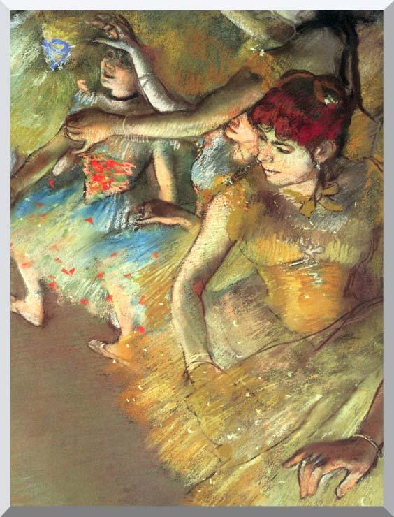 Edgar Degas Dancers stretched canvas art print