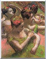 Edgar Degas Ballet Dancers stretched canvas art