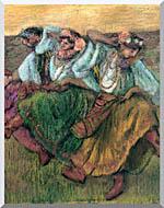 Edgar Degas Les Danseuses Russes stretched canvas art
