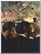 Edgar Degas Musicians In The Orchestra stretched canvas art