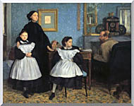Edgar Degas The Bellelli Family stretched canvas art