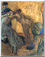 Edgar Degas The Cup Of Chocolate stretched canvas art
