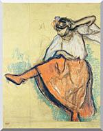 Edgar Degas The Russian Dancer stretched canvas art