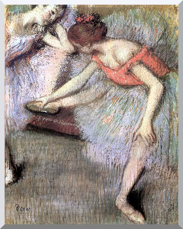 Edgar Degas Danseuses stretched canvas art print