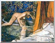Edgar Degas The Bath Impressionism stretched canvas art