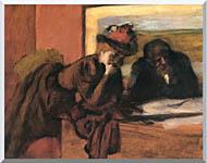 Edgar Degas The Conversation stretched canvas art