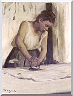 Edgar Degas Laundress stretched canvas art
