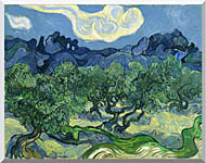 Vincent Van Gogh The Olive Trees stretched canvas art