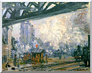 Claude Monet Outside View Of The Normandy Line stretched canvas art