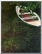 Claude Monet The Empty Boat stretched canvas art
