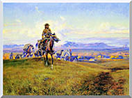 Charles Russell The Romance Makers stretched canvas art