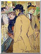 Henri De Toulouse Lautrec Alfred La Guigne stretched canvas art