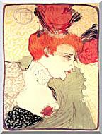 Henri De Toulouse Lautrec Marcelle Lender stretched canvas art