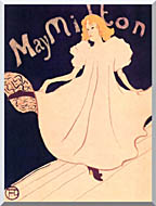 Henri De Toulouse Lautrec May Milton stretched canvas art
