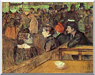 Henri De Toulouse Lautrec The Moulin De La Galette stretched canvas art