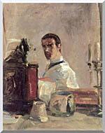 Henri De Toulouse Lautrec Henri De Toulouse Lautrec Self Portrait stretched canvas art