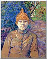 Henri De Toulouse Lautrec The Streetwalker stretched canvas art