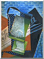 Juan Gris Abstraction stretched canvas art