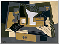 Juan Gris Coffee Grinder stretched canvas art