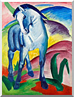Franz Marc Blue Horse 1 stretched canvas art