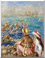 Pierre Auguste Renoir Baigneuses stretched canvas art
