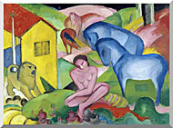 Franz Marc The Dream stretched canvas art