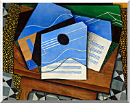 Juan Gris Guitar On A Table stretched canvas art