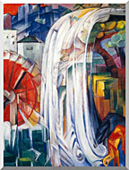Franz Marc The Bewitched Mill stretched canvas art