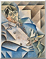 Juan Gris Portrait Of Pablo Picasso stretched canvas art