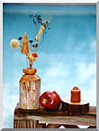 Ray Porter Autumn Still Life stretched canvas art