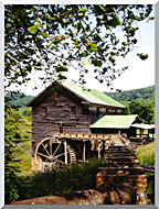 Ray Porter Old Mill stretched canvas art