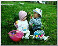 Ray Porter Our First Easter stretched canvas art