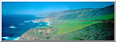 Visions of America Cabrillo Highway On The California Coast stretched canvas art