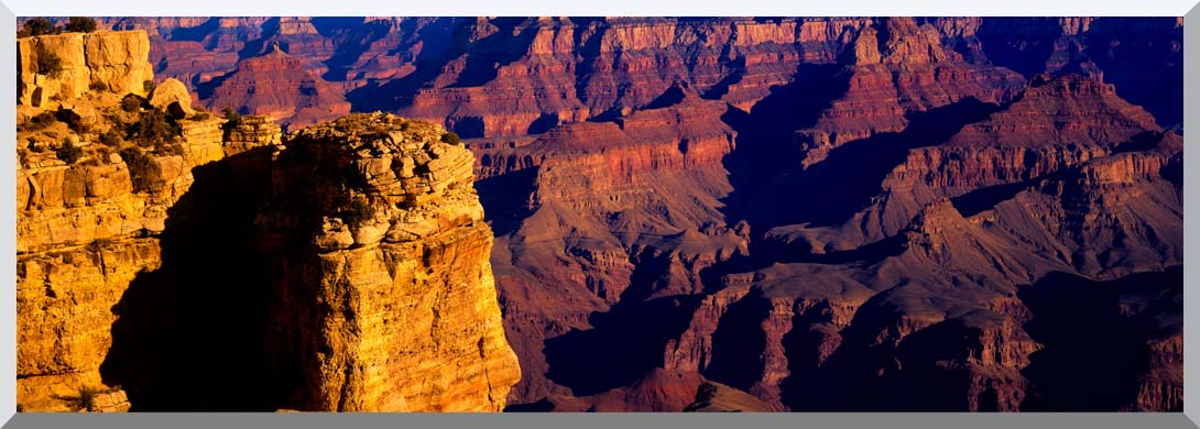 Visions of America Grand Canyon National Park from South Rim stretched canvas art print