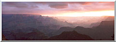 Visions of America South Rim Of The Grand Canyon Grand View Point stretched canvas art