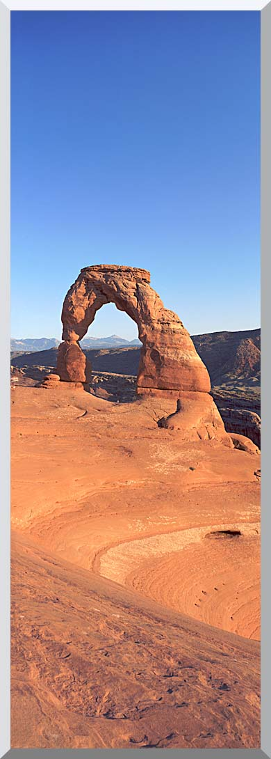 Visions of America Delicate Arch at Sunrise stretched canvas art print