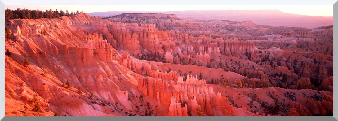 Visions of America Bryce Canyon National Park at Sunrise stretched canvas art print