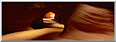 Visions of America Slot Canyon In Antelope Desert Canyon stretched canvas art