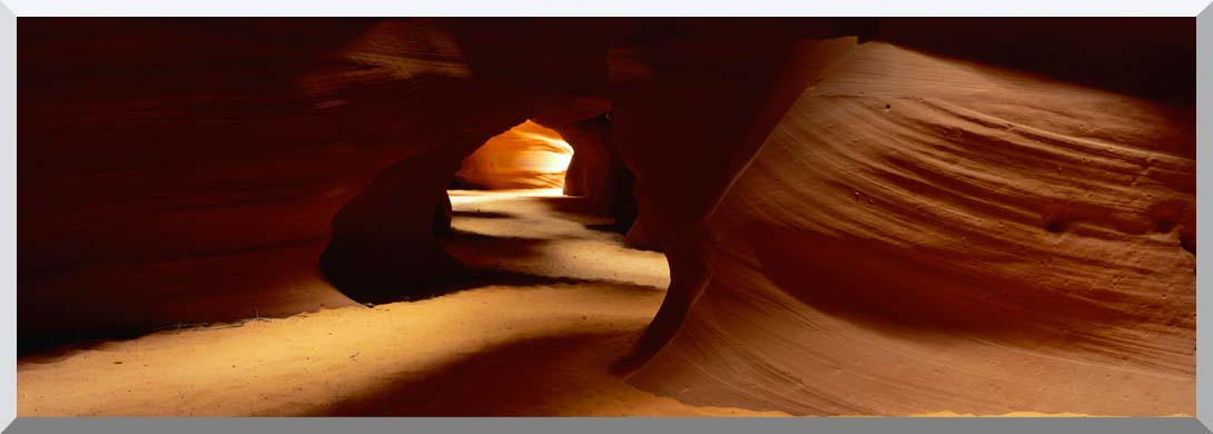 Visions of America Slot Canyon in Antelope Desert Canyon stretched canvas art print