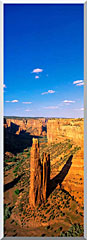 Visions of America Spider Rock 800 Ft High On South Rim Drive stretched canvas art