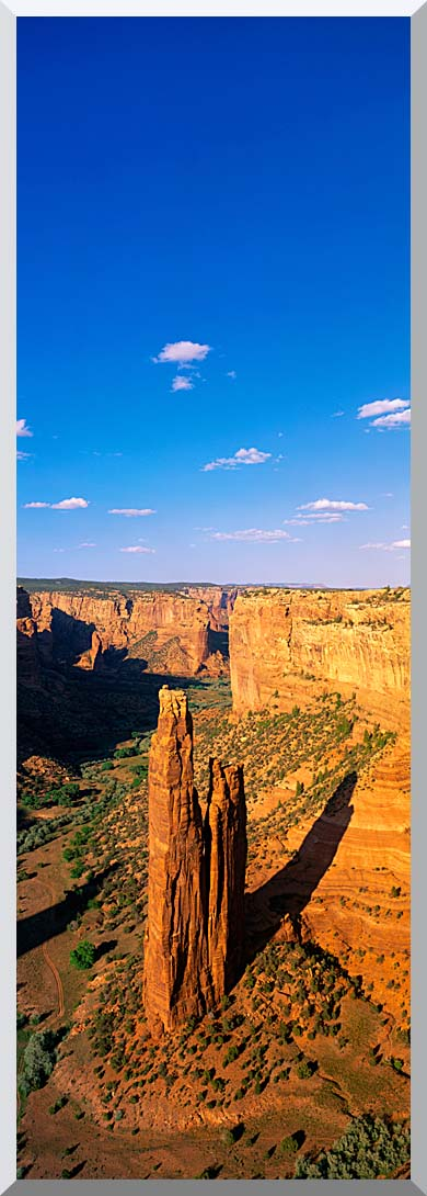 Visions of America Spider Rock 800 Ft High on South Rim Drive stretched canvas art print