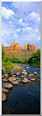 Visions of America Cathedral Rock At Red Rock Crossing stretched canvas art