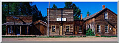 Visions of America A Ghost Town Near Virginia City stretched canvas art
