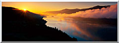 Visions of America Cape Horn On The Columbia River Gorge stretched canvas art