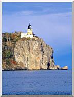 Visions of America Split Rock Lighthouse Minnesota stretched canvas art
